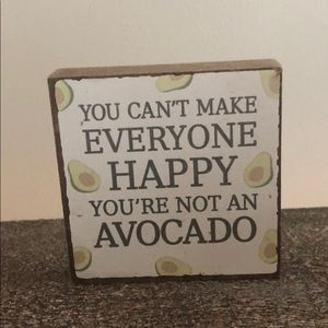 Cute Avocado sign